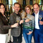 Filippa Lagerback e Daniele Bossari scelgono Ferrari per celebrare le nozze
