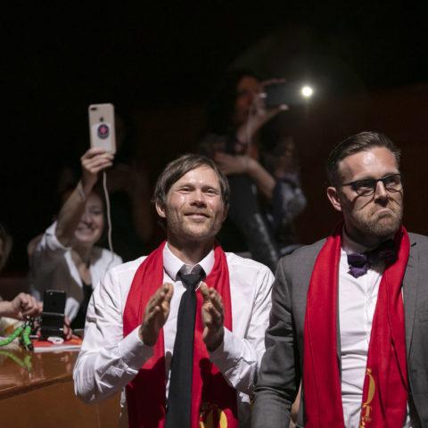 Rasmus Kofoed e Søren Ledet, vincitori del premio Ferrari Trento Art of Hospitality
