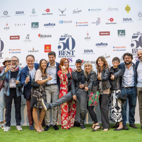 Some Italian representatives at The World's 50 Best Restaurants 2018