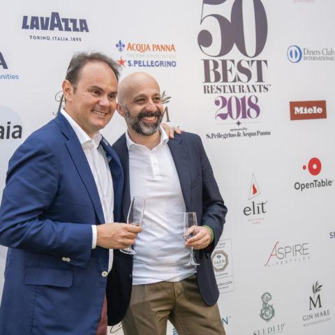 Matteo Lunelli e Niko Romito (Reale n°36)