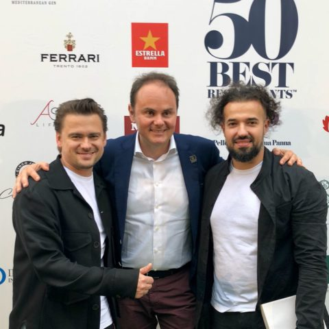 Matteo Lunelli with Victor Khripachev and Vladimir Mukhin (White Rabbit – n°15)