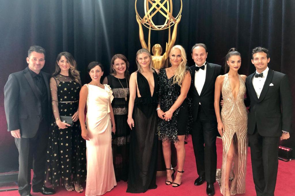 Gli ospiti di Ferrari Trento sul red carpet degli Emmy Awards