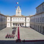 Al Quirinale si è brindato Ferrari alla visita del Presidente cinese Xi Jinping