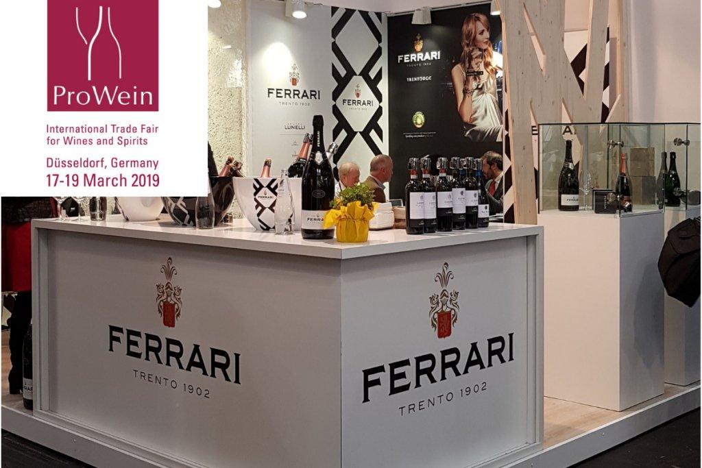 Trento Fiere Calendario.Cantine Ferrari A Prowein 2019 Con Un Ricco Calendario Di
