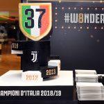 Ferrari W8NDERFUL Protagonist der Juventus-Meisterschaftsparty