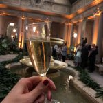 Ferrari-Schaumweine beim Young Fellow Ball der Frick Collection in New York