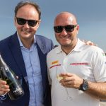 Ferrari Maximum Blanc de Blancs for the launch of Luna Rossa