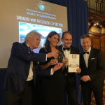 Sparkling Wine Producer of the Year: George Markus, Camilla, Matteo Lunelli e Ruben Larentis